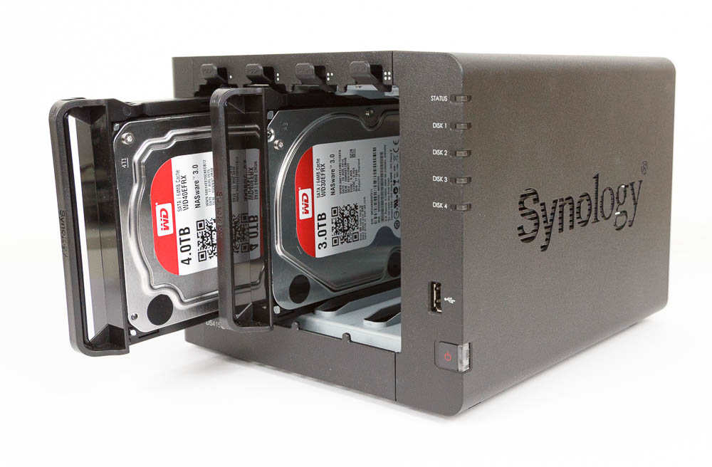 WD Red in Synology DS415+ NAS