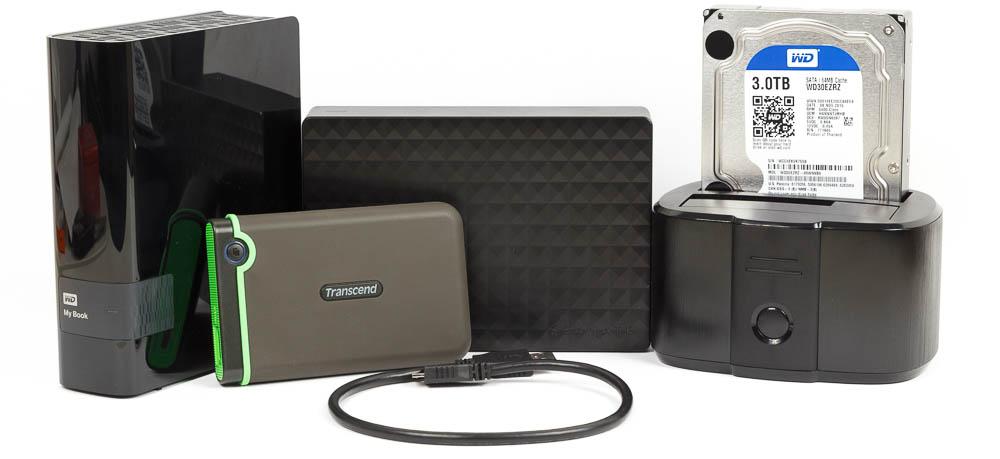 externe Festplatten Testsieger